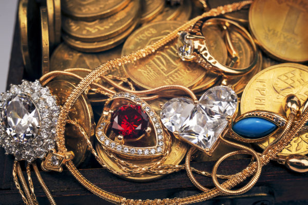 scrap gold and gold jewelry